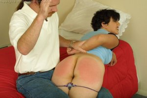 Real Spankings - Tess Learns A Lesson - image 10