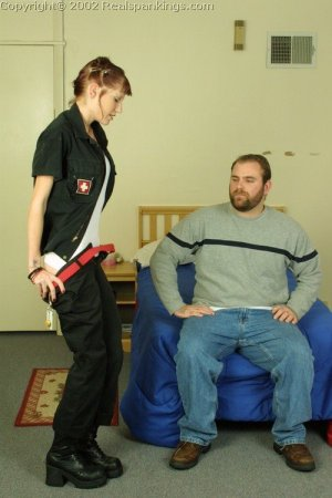 Real Spankings - Russ Spanks Holly - image 4
