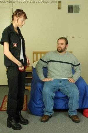 Real Spankings - Russ Spanks Holly - image 8