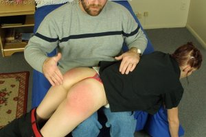 Real Spankings - Russ Spanks Holly - image 2