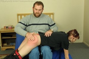 Real Spankings - Russ Spanks Holly - image 9