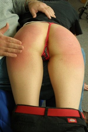 Real Spankings - Russ Spanks Holly - image 5
