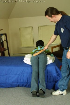 Real Spankings - Tess' Strapping - image 16
