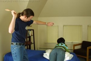 Real Spankings - Tess' Strapping - image 6