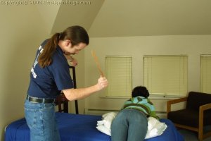 Real Spankings - Tess' Strapping - image 8