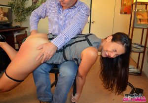 Spanked Call Girls - Sarah Gregory Spanked For Hijacking John - image 4