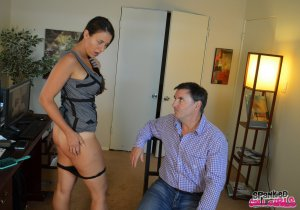 Spanked Call Girls - Sarah Gregory Spanked For Hijacking John - image 5
