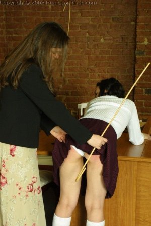 Real Spankings - Tess Gets The Cane - image 3