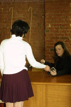 Real Spankings - Tess Gets The Cane - image 5