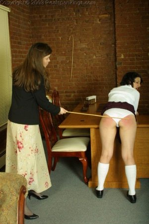 Real Spankings - Tess Gets The Cane - image 4
