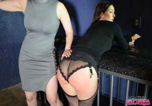 Spanked Call Girls - Snow Punishes Brat Amelie In Dungeon - image 3