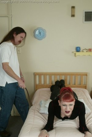 Real Spankings - Holly's Bedroom Strapping - image 15