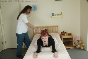 Real Spankings - Holly's Bedroom Strapping - image 7