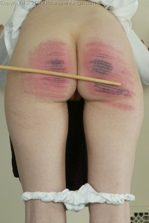 Real Spankings - Holly's Severe Caning - image 11