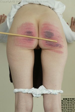Real Spankings - Holly's Severe Caning - image 8
