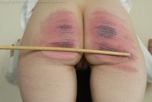Real Spankings - Holly's Severe Caning - image 13
