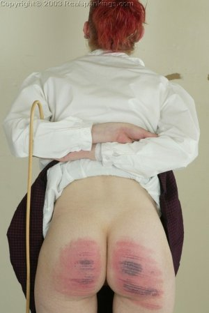 Real Spankings - Holly's Severe Caning - image 9