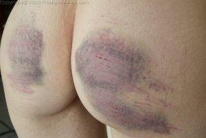 Real Spankings - Holly's Severe Caning - image 5