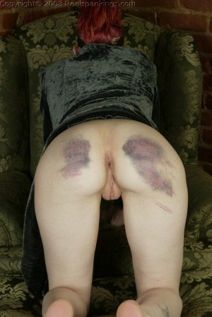 Real Spankings - Holly's Severe Caning - image 4