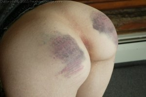 Real Spankings - Holly's Severe Caning - image 2