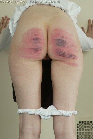 Real Spankings - Holly's Severe Caning - image 12