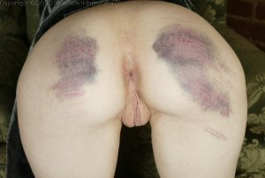 Real Spankings - Holly's Severe Caning - image 6