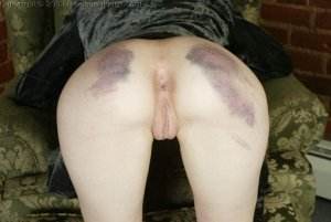 Real Spankings - Holly's Severe Caning - image 10