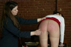 Real Spankings - Donna's Pantyhose Punishment - image 8