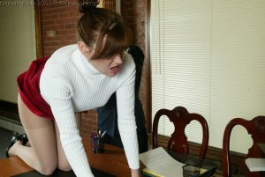 Real Spankings - Donna's Pantyhose Punishment - image 13