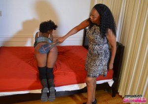 Spanked Call Girls - Daizy Cooper Gets Spanked For False Identity - image 10