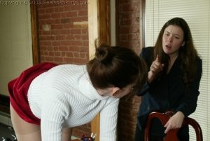 Real Spankings - Donna's Pantyhose Punishment - image 16