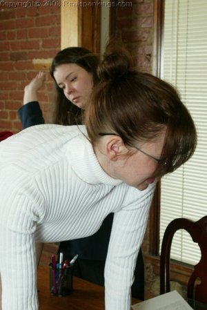 Real Spankings - Donna's Pantyhose Punishment - image 15