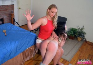 Spanked Call Girls - Elori Spanked For Fudging - image 2