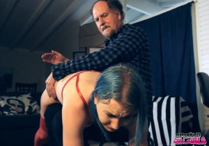 Spanked Call Girls - Lux Spanked Hard By Double Dan - image 3
