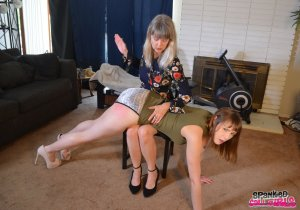 Spanked Call Girls - Sailor Luna Spanked By Madam Clare - image 4