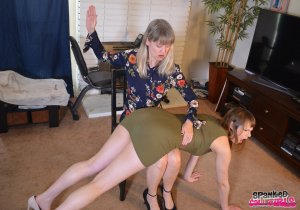 Spanked Call Girls - Sailor Luna Spanked By Madam Clare - image 9