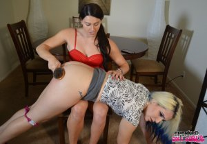 Spanked Call Girls - Blair Spanks Dria For Trash Talk - image 9