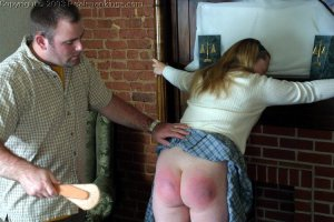 Real Spankings - Carrie Spanked By Russ - image 1