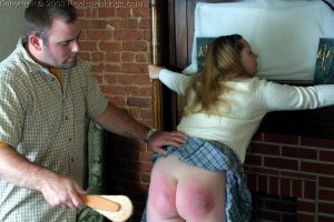 Real Spankings - Carrie Spanked By Russ - image 4