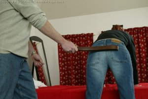 Real Spankings - Holly's Severe Belting - image 1