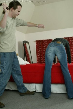 Real Spankings - Holly's Severe Belting - image 9