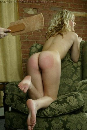 Real Spankings - Sarah's Nude Strapping - image 14