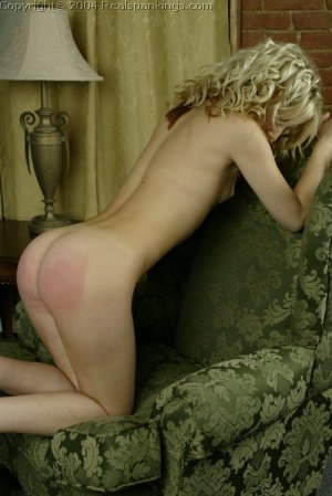 Real Spankings - Sarah's Nude Strapping - image 13