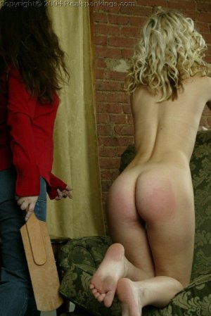 Real Spankings - Sarah's Nude Strapping - image 16