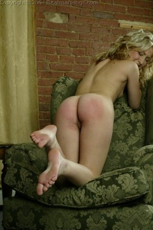 Real Spankings - Sarah's Nude Strapping - image 15