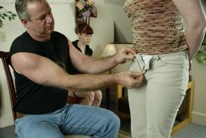 Real Spankings - Punished For Taking The Car - image 7
