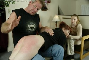 Real Spankings - Punished For Taking The Car - image 6