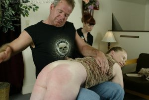 Real Spankings - Punished For Taking The Car - image 14