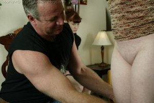 Real Spankings - Punished For Taking The Car - image 1