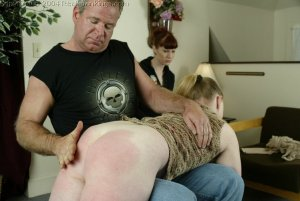 Real Spankings - Punished For Taking The Car - image 9